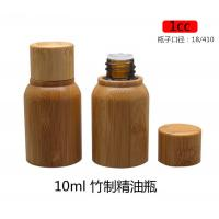 Buy cheap empty 0.33 ounce 10ML medicine bamboo cosmetic oil bottle from wholesalers