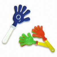 Buy cheap Cheering Hand Clappers/Noise Makers, Available for Parties or Big Events product