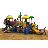 Buy cheap Powder Coated Steel Backyard Play Structures For Kids , Outdoor Play Equipment from wholesalers
