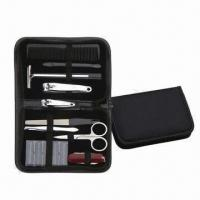 Buy cheap Promotional Men Manicure Set, Includes Razor and Comb, Multifunctional Knife from wholesalers