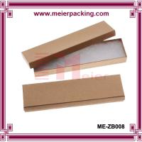 Buy cheap Kraft Brown Cardboard Jewelry Boxes  ME-ZB008 from wholesalers
