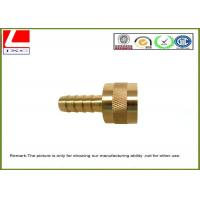 Buy cheap High Speed Precision CNC Machined Components Brass shaft For Electronics from wholesalers