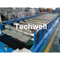 Buy cheap 0-15m/min Forming Speed High Precision Color Steel Roof Panel Roll Forming Machine With Chain Driving from wholesalers