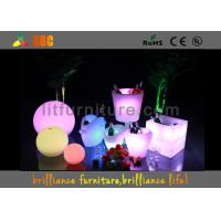 Buy cheap Nightclub Unbreakable LED ICE Bucket Bar Led Light Up Furniture CE Listed from wholesalers