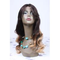 Buy cheap 100% remy human hair stock full lace wigs from wholesalers