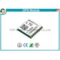 Buy cheap GPS Receiver Module L70 With Patch Antenna for personal tracking product