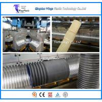 Buy cheap Plastic DWC Pipe Manufacturing Machine / HDPE Corrugated Pipe Extrusion Line from wholesalers