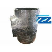 Buy cheap 40 X 32 Inch Flanged Reducing Tee , Sch 20 ASTM A234 WPB Pipe Reduction Fittings from wholesalers