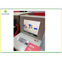 Buy cheap JC6040 Automatically Bi-Directions Scanning X Ray Baggage Scanner In Schools ,Malls And Police Offices from wholesalers