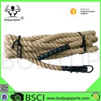 Buy cheap Outdoor / Indoor Gym Climbing Rope Sisal Material For Bodybuilding Climbing from wholesalers