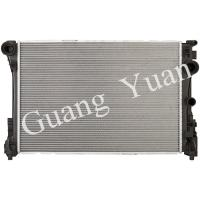 Buy cheap Light Weight Low Noise Mercedes Car Radiator , Custom Aluminum Radiator With Plastic Tank from wholesalers