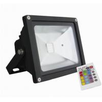 Buy cheap CRI70 20Watt Bridgelux Chip Waterproof LED Flood Light Meanwell Driver RGB With 16 Colors from wholesalers
