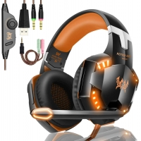 Buy cheap Computer DC5V 2.2kohm G2000 Stereo Gaming Headphone from wholesalers