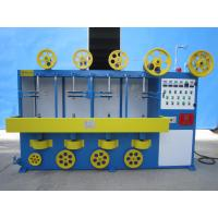 Buy cheap Vertical 3 Layer Wrapping Cable Wrapping Machine With Adjusting Continuous Variable Speed Transmission from wholesalers