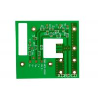 Buy cheap Single Side Metal Clad PCB Heavy Copper Backed PTFE / Micorowave Printed Circuit Board from wholesalers