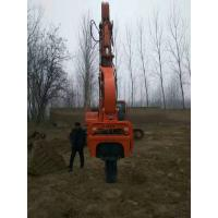 Buy cheap Great price widely used excavator mounted hydraulic pile driver for 20-35t excavator from wholesalers