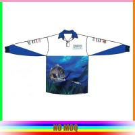 Buy cheap Full Sublimation Mens Fishing T Shirts , Polyester Fishing ShirtsFull Sleeve from wholesalers