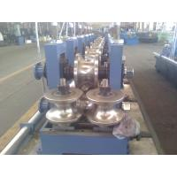 Buy cheap EMT Pipe Roll Forming Machine , Steel Rectangular Pipe Mills from wholesalers