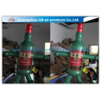 Buy cheap 2.5m Bottle Man Inflatable Moving Cartoon Characters for Advertising Promotion product