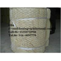 Buy cheap Galvanized wire mesh rockwool blanket for industry insulation from wholesalers