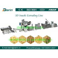 Buy cheap Automatic Panipuri / Golgappa Fryum 3d Snack Extruder Machine processing line from wholesalers