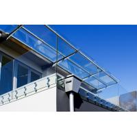Buy cheap Frameless stainless steel glass balustrade with Patch Fittings product