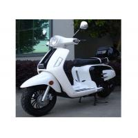 Buy cheap Cycle Headlight Adult Motor Scooter 150cc With Two Rear View Mirrors Automatic Transmission from wholesalers