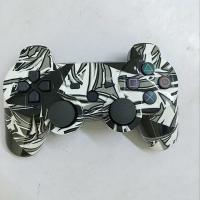 Buy cheap Gray Graffiti Playstation Game Controller Ps3 ABS Material Highly Sensitive Motion from wholesalers