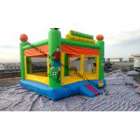 Buy cheap cheap inflatable trampolineindoor inflatable trampoline air bouncer inflatable trampoline from wholesalers