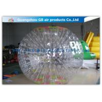 Buy cheap Funny Transparent Inflatable Bumper Ball , Inflatable Grass Zorb Ball For Adults product