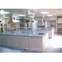 Buy cheap Steel Lab Tables / Floor Mounted School Laboratory Furniture for Education from wholesalers