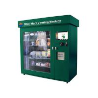 Buy cheap High Capacity Network Vending Machine with Coin Acceptor , Banknote Acceptor and Credit Card Reader from wholesalers