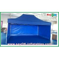 Buy cheap Aluminum / Iron Frames Gazebo Replacement Canopy 3 x 4.5m With 3 Sidewalls product