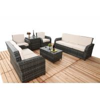 Buy cheap 6 PCS Chair Back Adjustable Rattan Sofa Set With Powder Coated Steel Frame from wholesalers