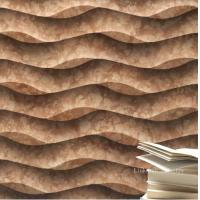 Buy cheap Decorative stone 3d wall textures panel from wholesalers