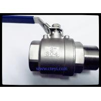 Buy cheap Female / Male End Stainless Steel Ball Valves 1/4 - 4 Investment Casting Body from wholesalers
