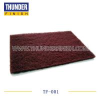Buy cheap Light Maroon Abrasive Scouring Pad from wholesalers