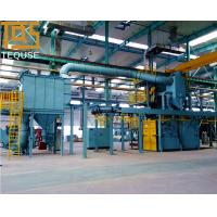 Buy cheap CONTINUOUS OVERHAED RAIL HANGER SHOT BLAST MACHINE from wholesalers