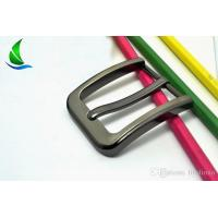 Buy cheap 39mm NEW High-Grade Thin Stripes Belt Pin Buckle Alloy Leather Craft Accessories LL29 from wholesalers