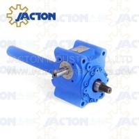 Buy cheap 5 KN Mechanical Worm Gear Screw Jack Trapezoidal lifting Screw 16MM Height Adjustment from wholesalers
