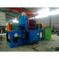 Buy cheap Carbon Steel Double Power Scrap Tire Recycling Machine For Waste Rubber from wholesalers