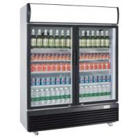 Buy cheap 630L veritcal double door defrost direct cooling display beverage cooler product