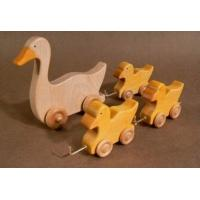 Buy cheap Kids Educational Wooden Toys Cute Toddlers Duck 150 X 140 X 12 mm from wholesalers