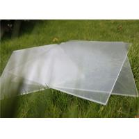 Small Size 100 x 100mm Solar Photovoltaic Glass 3.2mm Thickness For Solar Cell