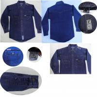 Buy cheap children clothing stock lots full sleeve kids branded denim shirts  levi's tops jackets from wholesalers