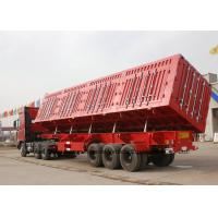 Buy cheap Side Tipper Trailer -  Heavy Duty Dumper Semi Trailer Truck for Sand - Mine Transport 3 Axles 50  -60T from wholesalers