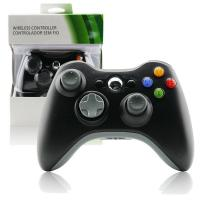 Buy cheap Plastic Xbox 360 Wireless Controller Black , Gamepad Controller For Xbox 360  from wholesalers