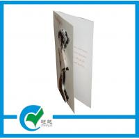 Buy cheap White Foil - stamping New Style Christmas Day Greeting Card Stock Paper for Christmas from wholesalers