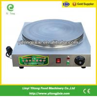 Buy cheap China manufacture 400mm electric crepe maker machine from wholesalers