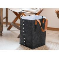 Buy cheap Multi Color Double Layer Felt Storage Cube Custom Size For Laundry from wholesalers